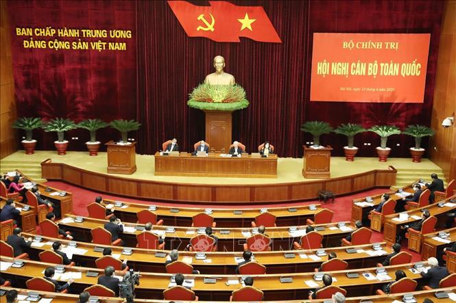 Tổng bí thư, Chủ tịch nước Nguyễn Phú Trọng chủ trì hội nghị cán bộ toàn quốc của Đảng - Ảnh 6.