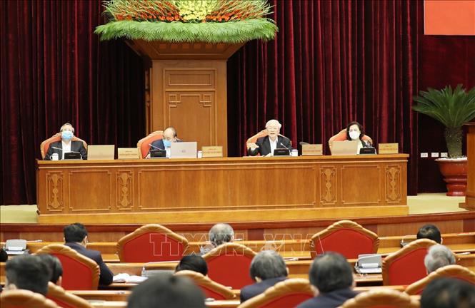 Tổng bí thư, Chủ tịch nước Nguyễn Phú Trọng chủ trì hội nghị cán bộ toàn quốc của Đảng - Ảnh 7.