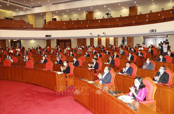 Tổng bí thư, Chủ tịch nước Nguyễn Phú Trọng chủ trì hội nghị cán bộ toàn quốc của Đảng - Ảnh 8.