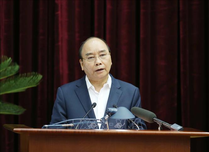 Tổng bí thư, Chủ tịch nước Nguyễn Phú Trọng chủ trì hội nghị cán bộ toàn quốc của Đảng - Ảnh 3.
