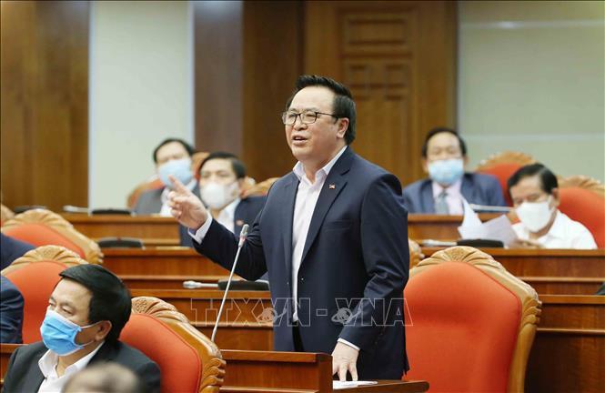 Tổng bí thư, Chủ tịch nước Nguyễn Phú Trọng chủ trì hội nghị cán bộ toàn quốc của Đảng - Ảnh 10.