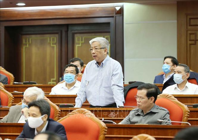 Tổng bí thư, Chủ tịch nước Nguyễn Phú Trọng chủ trì hội nghị cán bộ toàn quốc của Đảng - Ảnh 11.