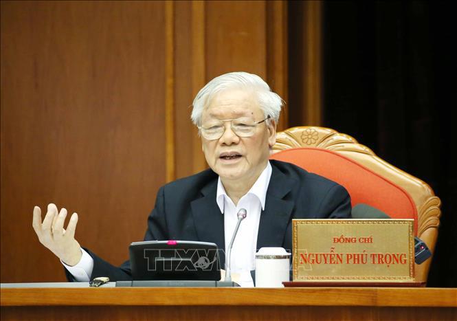 Tổng bí thư, Chủ tịch nước Nguyễn Phú Trọng chủ trì hội nghị cán bộ toàn quốc của Đảng - Ảnh 2.