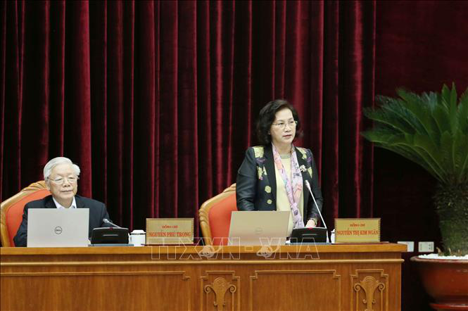Tổng bí thư, Chủ tịch nước Nguyễn Phú Trọng chủ trì hội nghị cán bộ toàn quốc của Đảng - Ảnh 4.