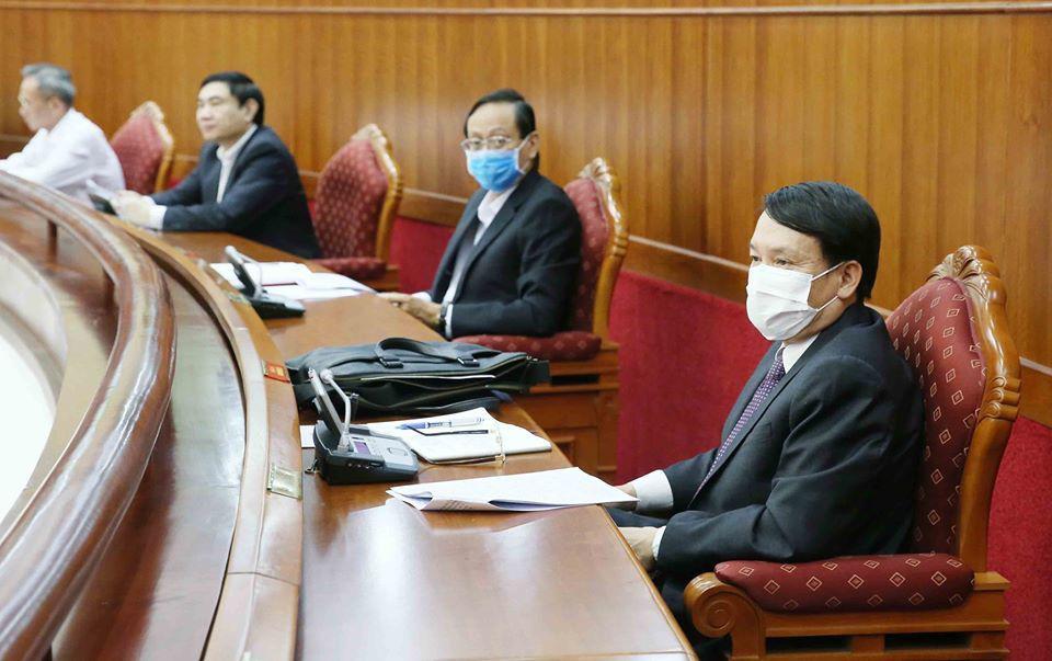 Tổng bí thư, Chủ tịch nước Nguyễn Phú Trọng chủ trì hội nghị cán bộ toàn quốc của Đảng - Ảnh 9.