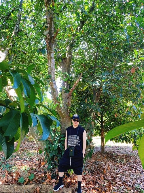 NTK Đỗ Mạnh Cường hé lộ khu vườn ngập trái cây - Ảnh 11.