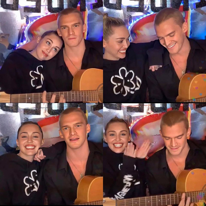 Bạn gái như Miley Cyrus mùa Covid-19: Tự tay cắt tóc cho bạn trai kém 5 tuổi, kết quả khiến fan ngỡ ngàng! - Ảnh 7.