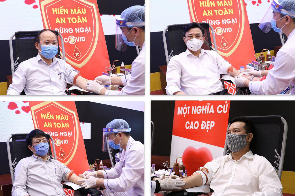 Bộ trưởng Trần Hồng Hà tham gia hiến máu tình nguyện - Ảnh 3.