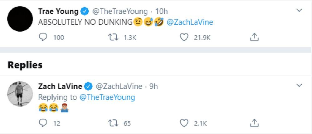 """Cuộc thi """"H.O.R.S.E"""" lộ diện những gương mặt đầu tiên: Trae Young vội đặt luật trước sự góp mặt của """"thánh úp rổ"""" Zach LaVine - Ảnh 2."""