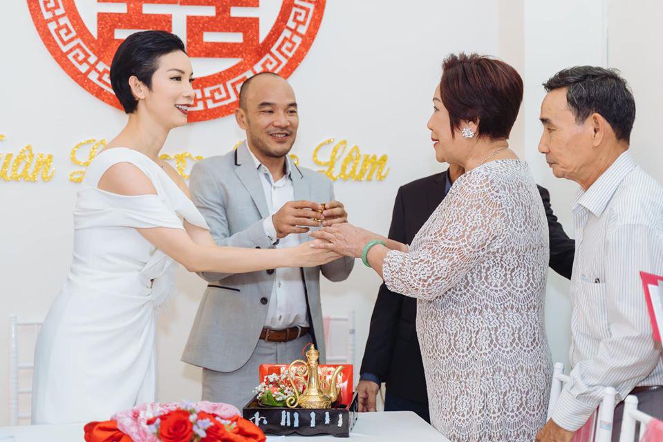 Hé lộ ảnh đám hỏi của Xuân Lan sau đám cưới bí mật - Ảnh 3.
