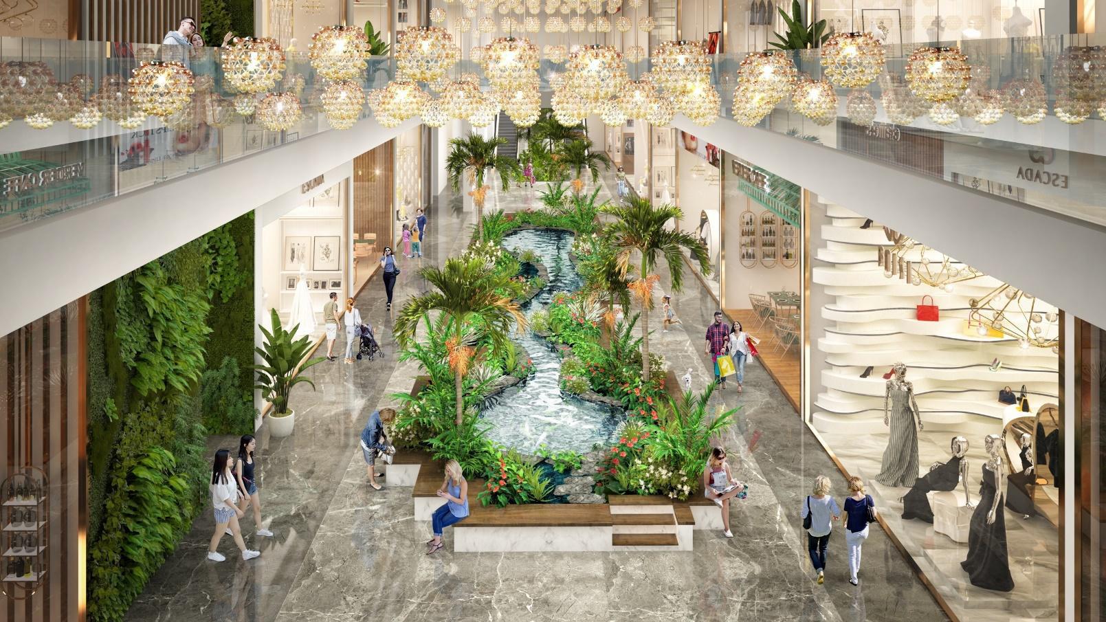 Triển khai tuyến phố đi bộ như trong sân bay Changi giữa lòng toà tháp cao cấp nhất Ecopark - Ảnh 3.