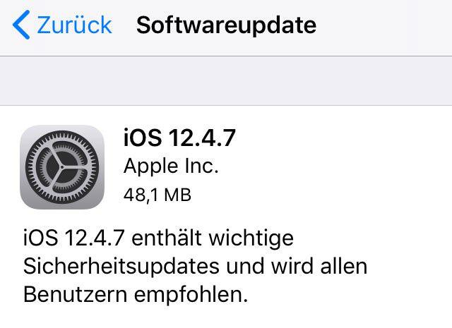 Được cập nhật iOS 12.4.7, iPhone 5s, iPhone 6 vẫn chưa bị Apple bỏ rơi - Ảnh 1.