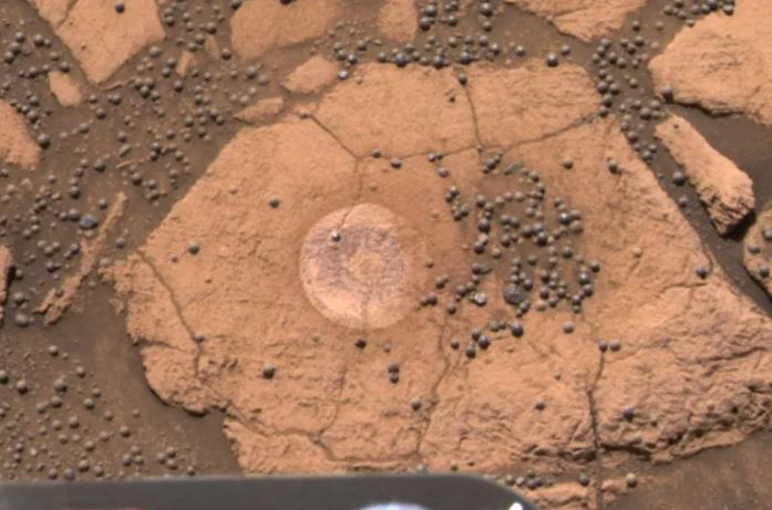 Những bức ảnh chụp trên Sao Hỏa kỳ lạ nhất thế giới: Toàn đất đá mà nhìn ra đủ thứ, từ động vật, thực vật cho đến cả mặt người - Ảnh 5.