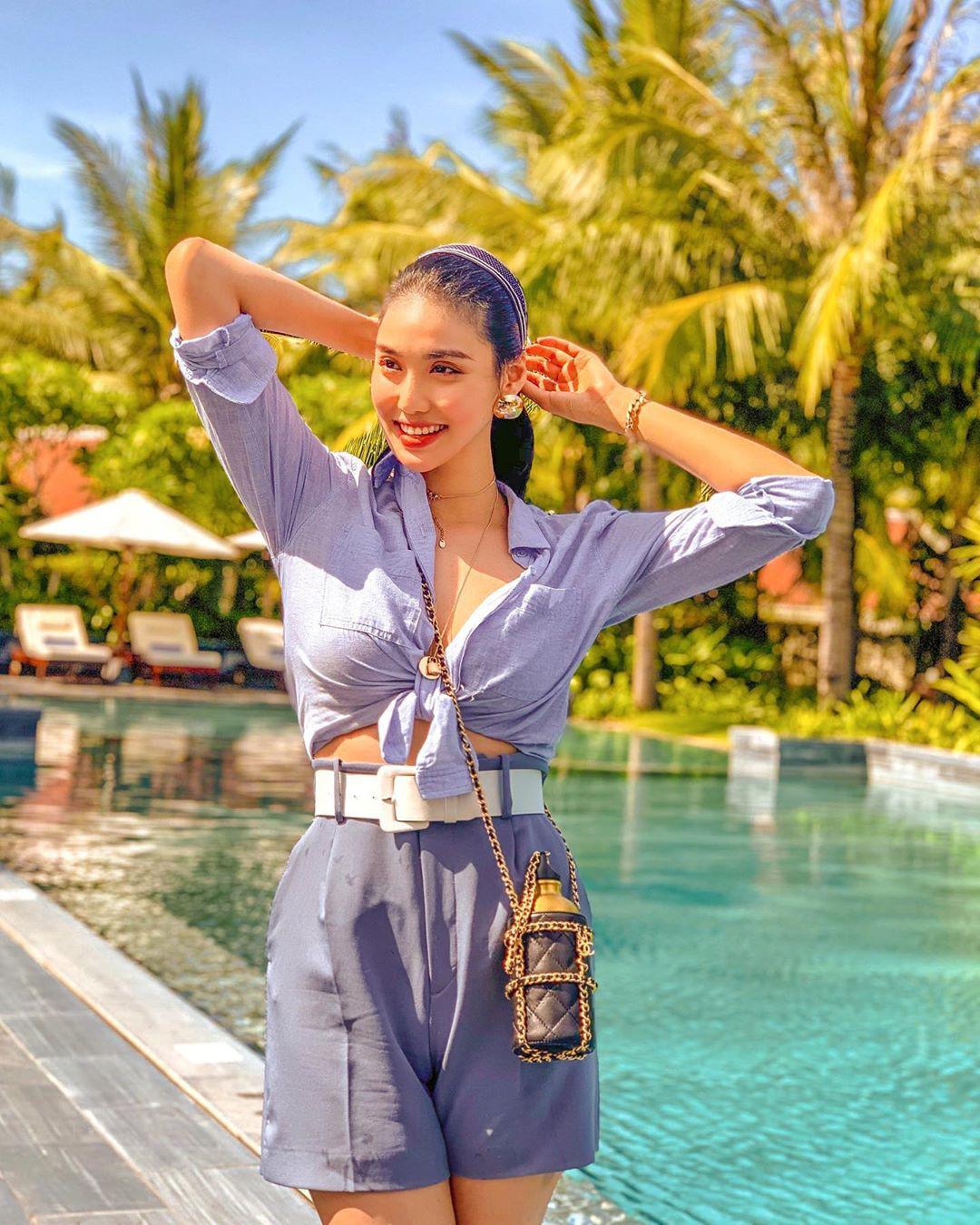 Sao Việt lấy lại dáng đẹp sau sinh: Nhã Phương tập lên cả cơ bụng, Lan Khuê bụng phẳng lì không chút mỡ thừa - Ảnh 17.