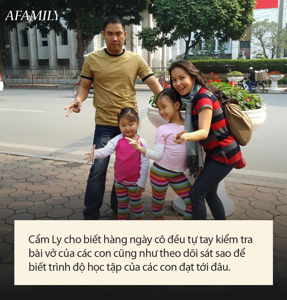 Các con của Cẩm Ly: Học trường nửa tỷ, ở biệt thự 1 triệu USD, từ nhỏ đã được bà mẹ nổi tiếng kèm cặp sát sao như này - Ảnh 4.