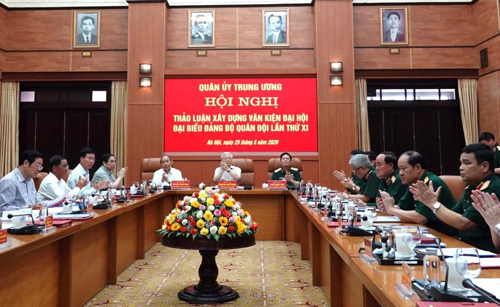 Tổng Bí thư, Chủ tịch nước: Đại hội Đảng bộ Quân đội phải mẫu mực từ khâu chuẩn bị - Ảnh 1.