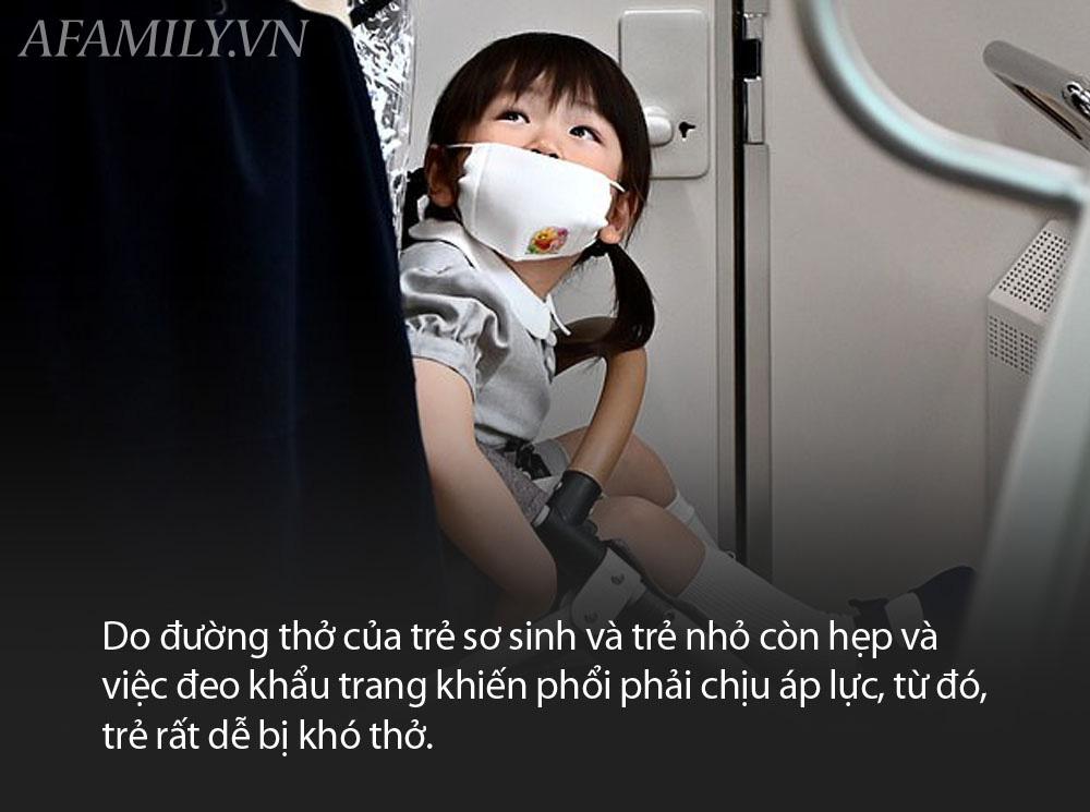 Hiệp hội Nhi Khoa Nhật Bản cảnh báo không mang khẩu trang cho trẻ em dưới 2 tuổi vì nó làm tăng nguy cơ nghẹt thở  - Ảnh 2.
