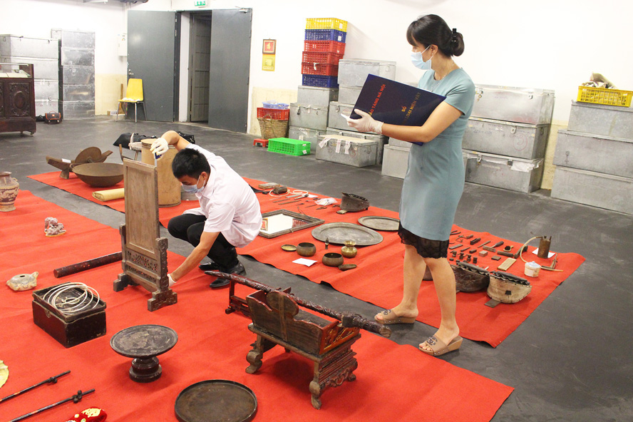 Bảo tàng Hà Nội: Dốc toàn lực cho công tác trưng bày - Ảnh 1.