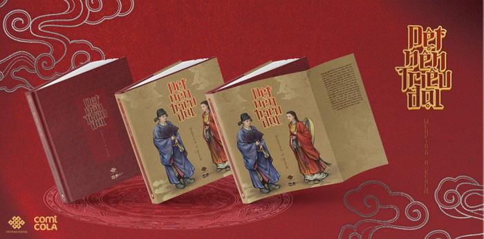 """""""Dệt nên triều đại"""", cuốn sách song ngữ về cổ phục Việt thời Lê Sơ - Ảnh 1."""