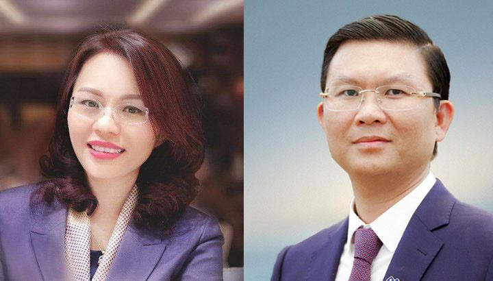 Bà Hương Trần Kiều Dung là Chủ tịch, ông Lê Thành Vinh là Tổng Giám đốc FLC Faros - Ảnh 1.