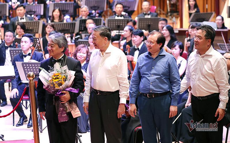 Đại tướng, Bộ trưởng Tô Lâm xem hoà nhạc 'Chúng tôi đã quay lại'