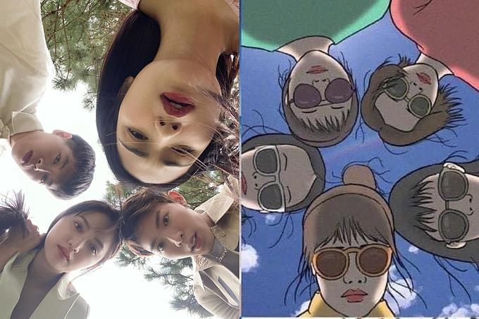 Hòa Minzy và hội bạn thân tư vấn cho khán giả chụp ảnh lầy lội khi đi chơi nhóm - Ảnh 7.