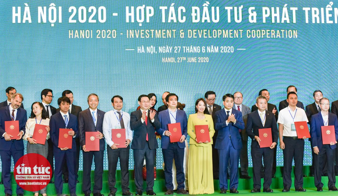 Hà Nội kêu gọi được 400 nghìn tỷ đồng vốn tại Hội nghị xúc tiến đầu tư - Ảnh 11.