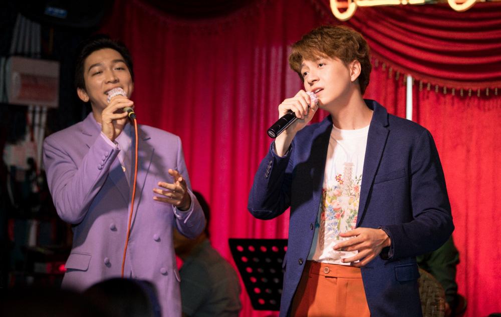 Jun Phạm, Sam khiến tiệc sinh nhật của Ngô Kiến Huy tưng bừng hơn bao giờ hết - Ảnh 5.