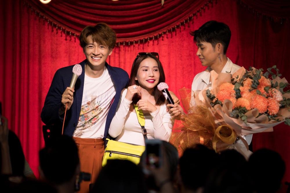 Jun Phạm, Sam khiến tiệc sinh nhật của Ngô Kiến Huy tưng bừng hơn bao giờ hết - Ảnh 8.