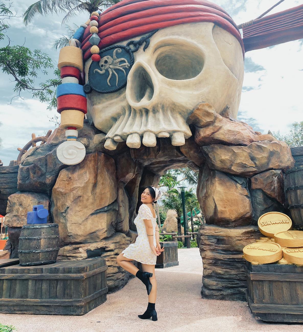 """Hot blogger Hà Trúc: Rực rỡ với trải nghiệm """"ăn ngon, mặc đẹp"""" và du lịch chất tại Nam đảo Phú Quốc - Ảnh 9."""