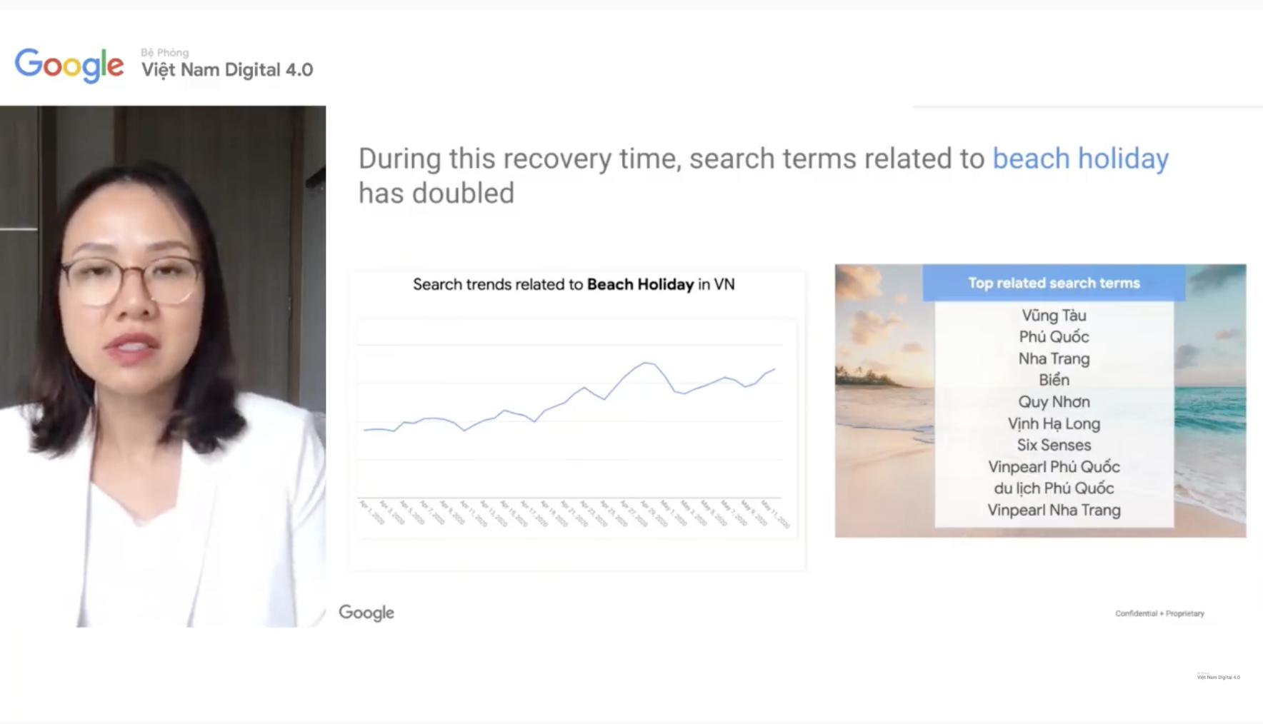 Các từ khoá du lịch biển tại Việt Nam trên Google tăng gấp 2 lần so với trước đại dịch: Top 10 tìm kiếm không thấy Đà Nẵng - Ảnh 3.