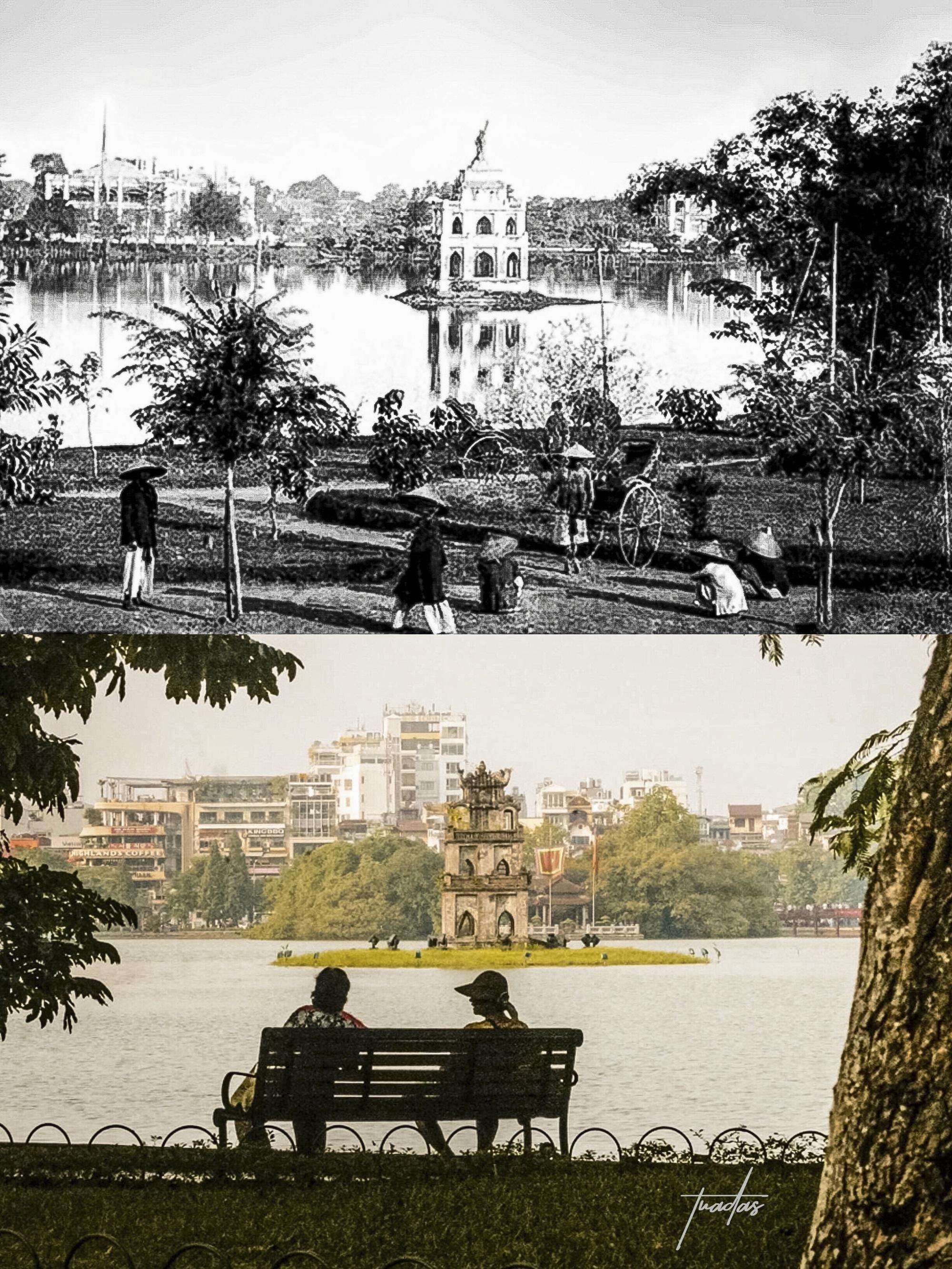 Chàng trai 25 tuổi dành 7 năm chụp bộ ảnh Hà Nội 100 năm trước: Vì thời gian là thứ không thể lấy lại được  - Ảnh 5.
