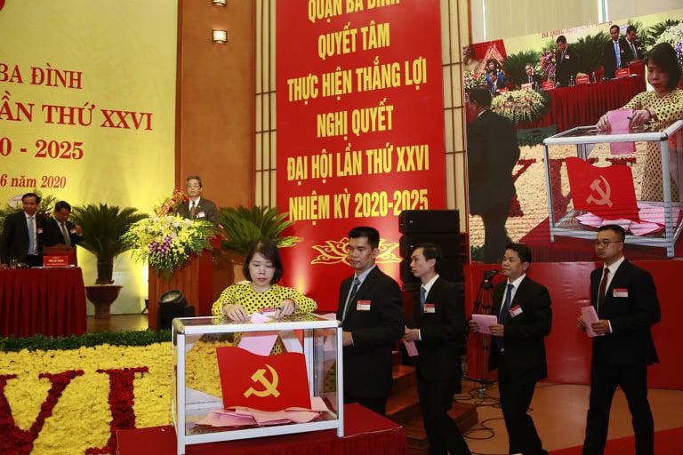Hà Nội tổ chức thành công đại hội điểm đảng bộ cấp trên cơ sở nhiệm kỳ 2020-2025: Khởi đầu thuận lợi - Ảnh 2.