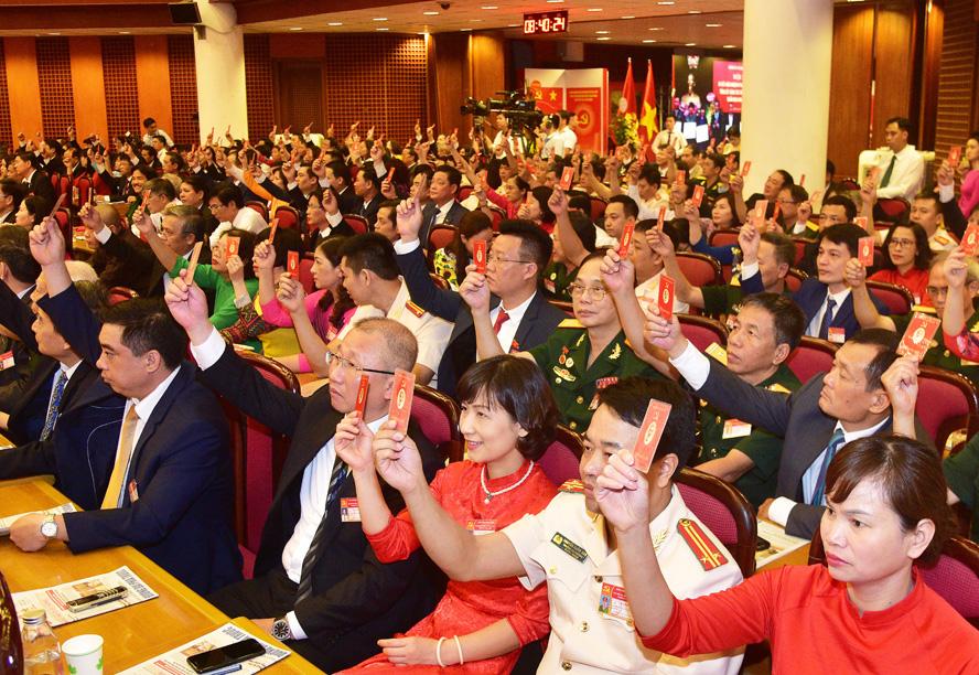Hà Nội tổ chức thành công đại hội điểm đảng bộ cấp trên cơ sở nhiệm kỳ 2020-2025: Khởi đầu thuận lợi - Ảnh 1.