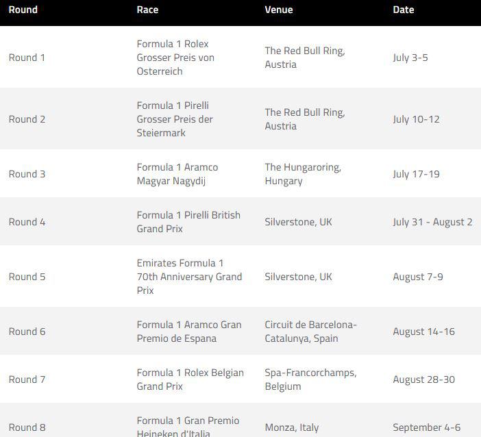 Mùa giải F1 chốt lịch 8 vòng đua đầu tiên: Áo, Anh được ưu ái 2 chặng, chưa có tên Việt Nam - Ảnh 1.