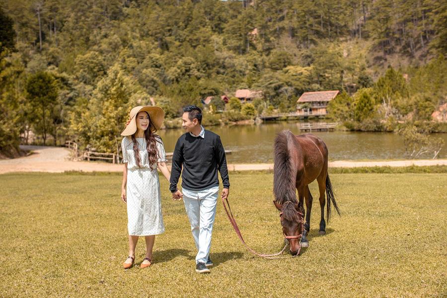 Lý Hải - Minh Hà kỷ niệm 10 năm ngày cưới bằng bộ ảnh lãng mạn - Ảnh 9.