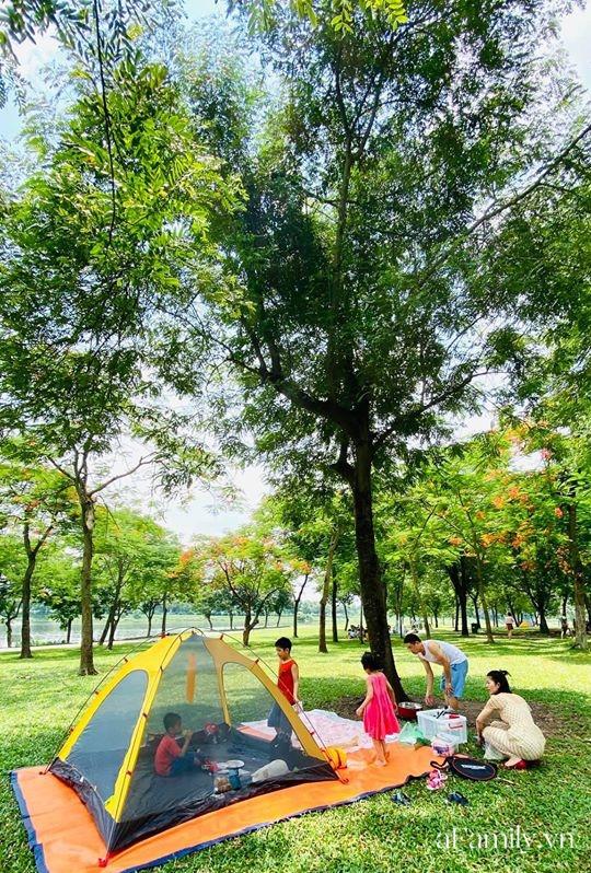 Ngay ở trung tâm Hà Nội có 1 công viên rộng mênh mông, đầy cây xanh - điểm dã ngoại tuyệt vời cho trẻ nhỏ - Ảnh 5.