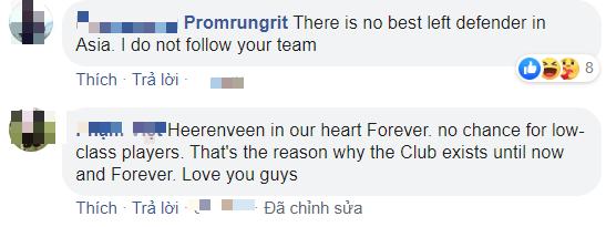 Văn Hậu chia tay SC Heerenveen, fan Thái Lan bình luận troll đội bóng Hà Lan: Họ thật tàn nhẫn, Hà Nội FC đã chấp nhận trả lương rồi mà - Ảnh 3.