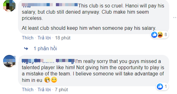 Văn Hậu chia tay SC Heerenveen, fan Thái Lan bình luận troll đội bóng Hà Lan: Họ thật tàn nhẫn, Hà Nội FC đã chấp nhận trả lương rồi mà - Ảnh 4.