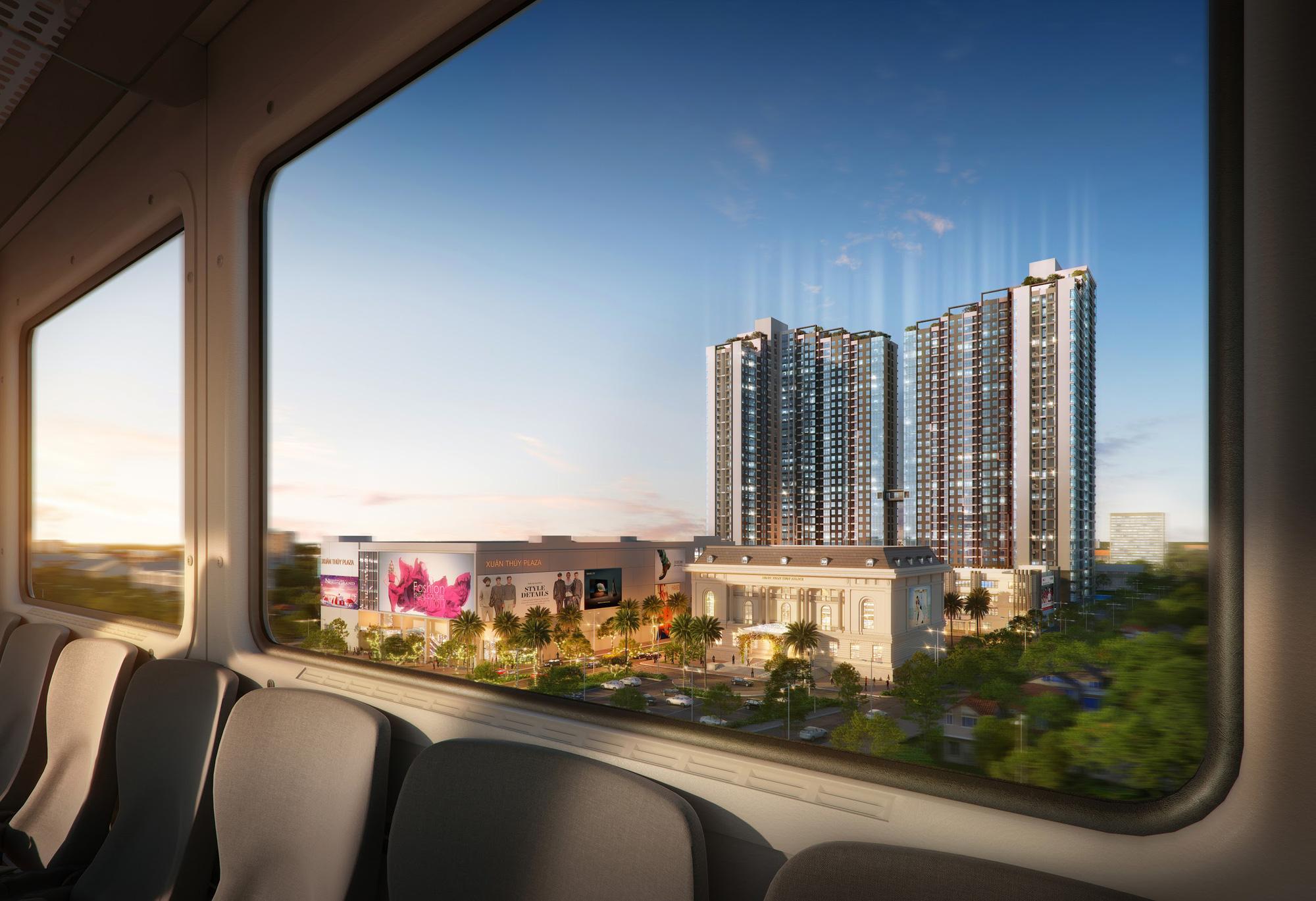 """Mipec Rubik360 thụ hưởng lợi ích """"vàng"""" liền kề tuyến Metro: Nhổn - Ga Hà Nội - Ảnh 3."""