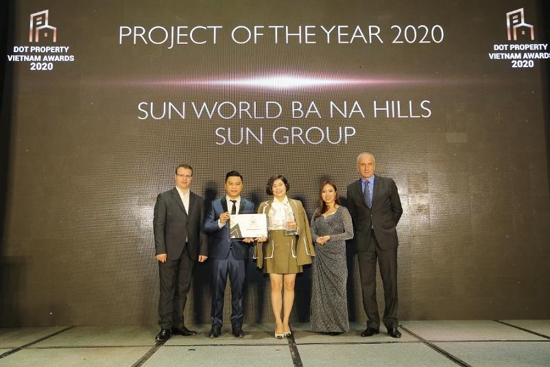 """Sun Group được vinh danh """"Nhà phát triển công trình vui chơi giải trí tốt nhất Việt Nam 2020"""" - Ảnh 2."""