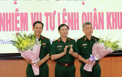 Bàn giao nhiệm vụ Tư lệnh Quân khu 3, Tư lệnh Bộ đội Biên phòng - Ảnh 1.