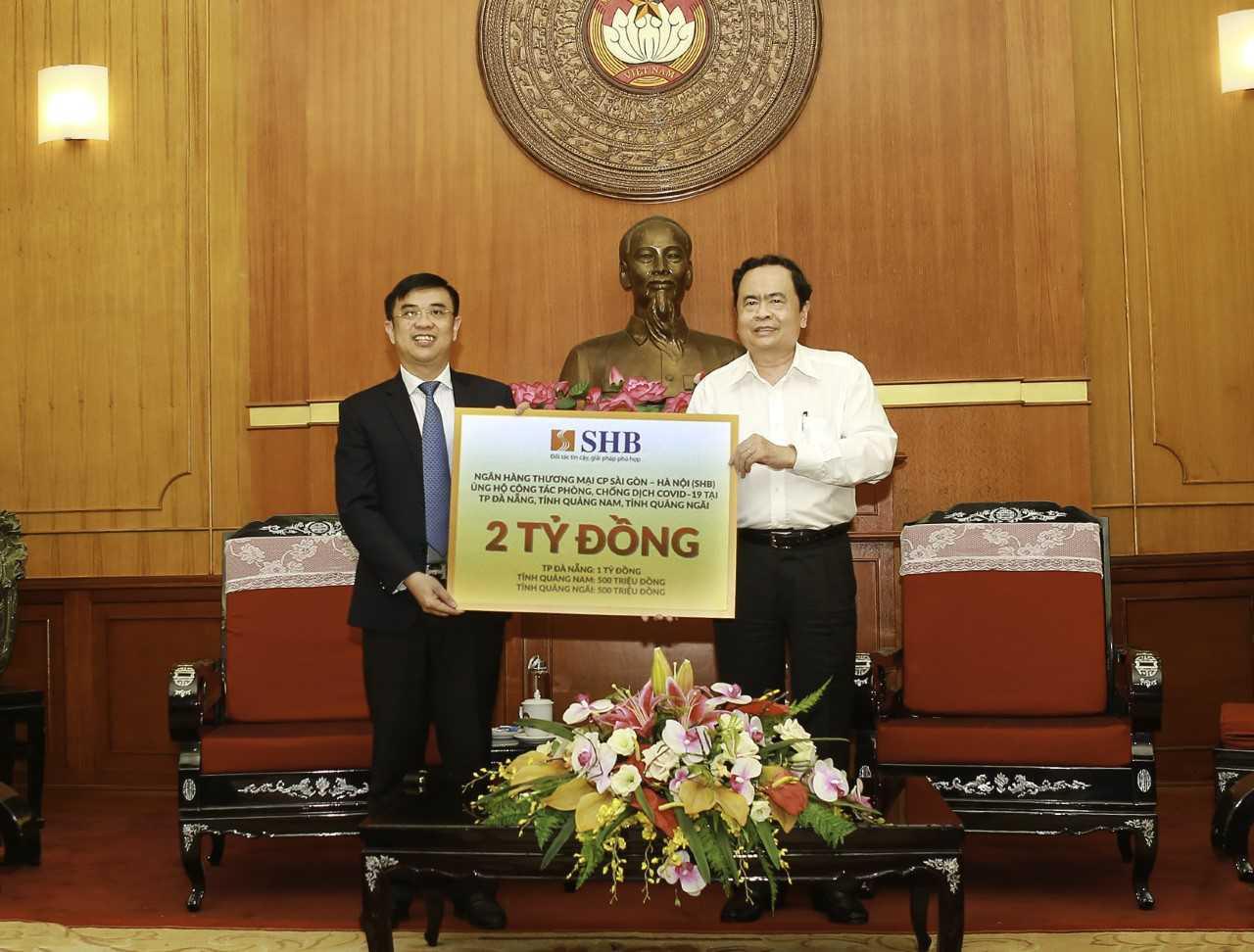 Các doanh nghiệp của bầu Hiển ủng hộ 6,1 tỷ đồng cho Đà nẵng, Quảng Nam và Quảng Ngãi chống Covid-19 - Ảnh 1.