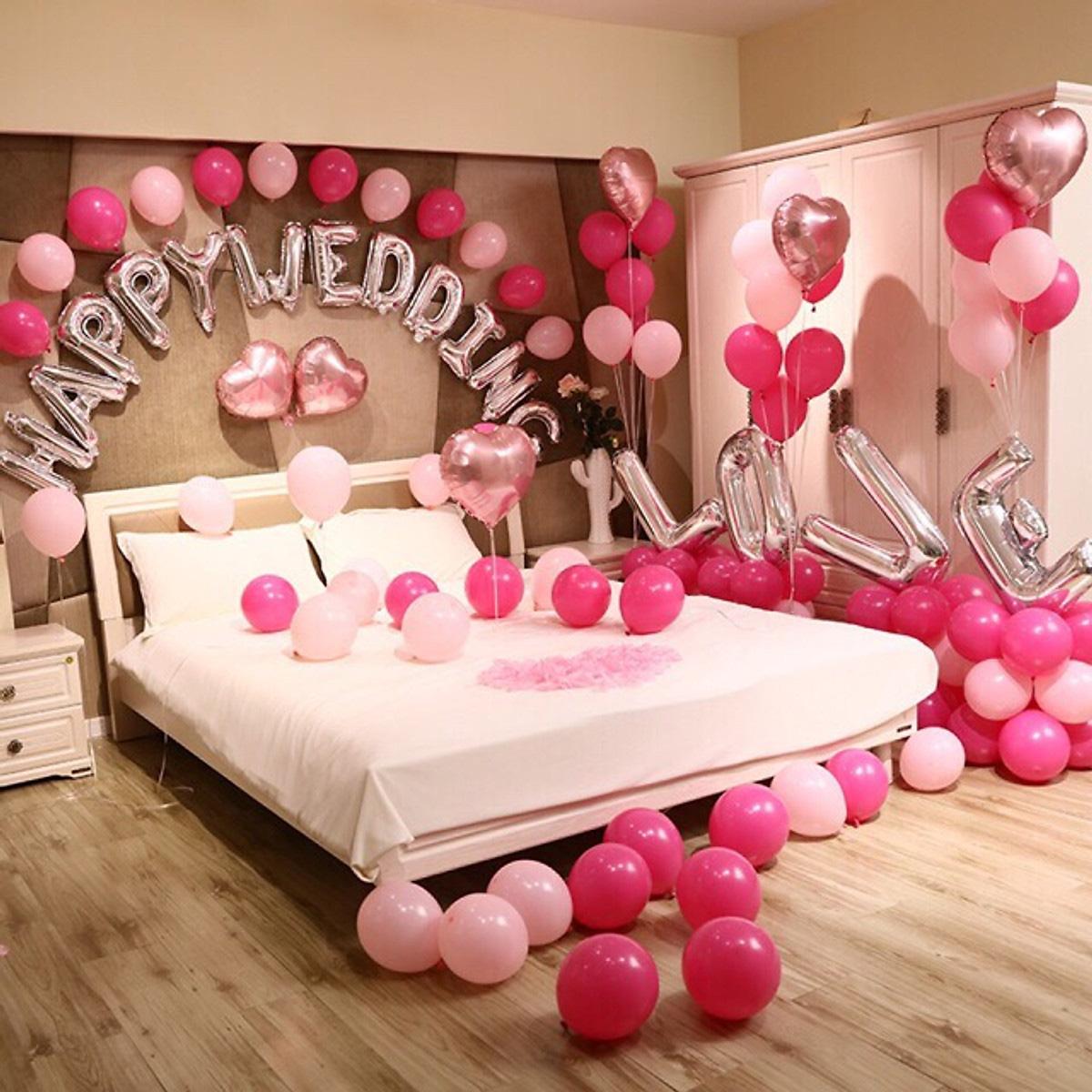 Tự tay trang trí phòng cưới lãng mạn với loạt phụ kiện giá chưa đầy 500.000 đồng - Ảnh 1.