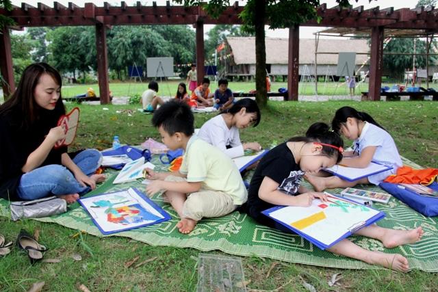 """""""Mùa hè trong em"""" tại Làng Văn hóa - Du lịch các dân tộc Việt Nam - Ảnh 1."""