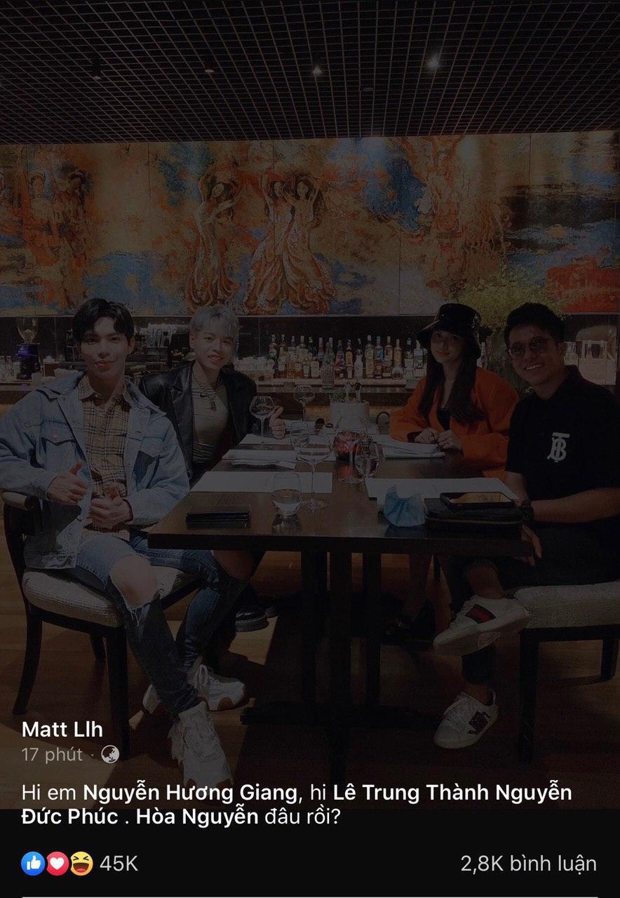 Matt Liu đăng nhẹ tấm hình với Hương Giang sau ồn ào hi em, dân tình lập tức vào bão like tới tấp - Ảnh 3.
