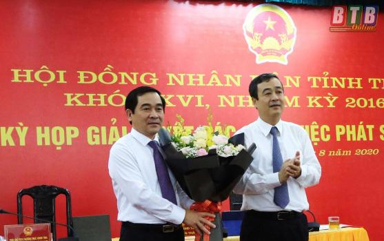 Thái Bình tổ chức bầu Chủ tịch HĐND tỉnh - Ảnh 1.