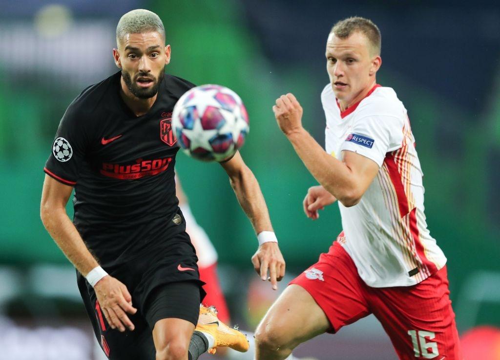 Leipzig 2-1 Atletico Madrid: Bàn thắng phút cuối của Adams đưa đội chủ nhà vào bán kết Champions league - Ảnh 2.