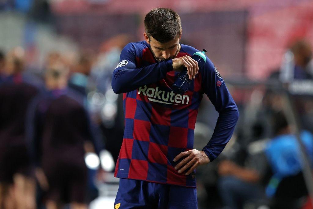 Pique: Tôi sẽ ra đi nếu Barca cần thay máu - Ảnh 1.
