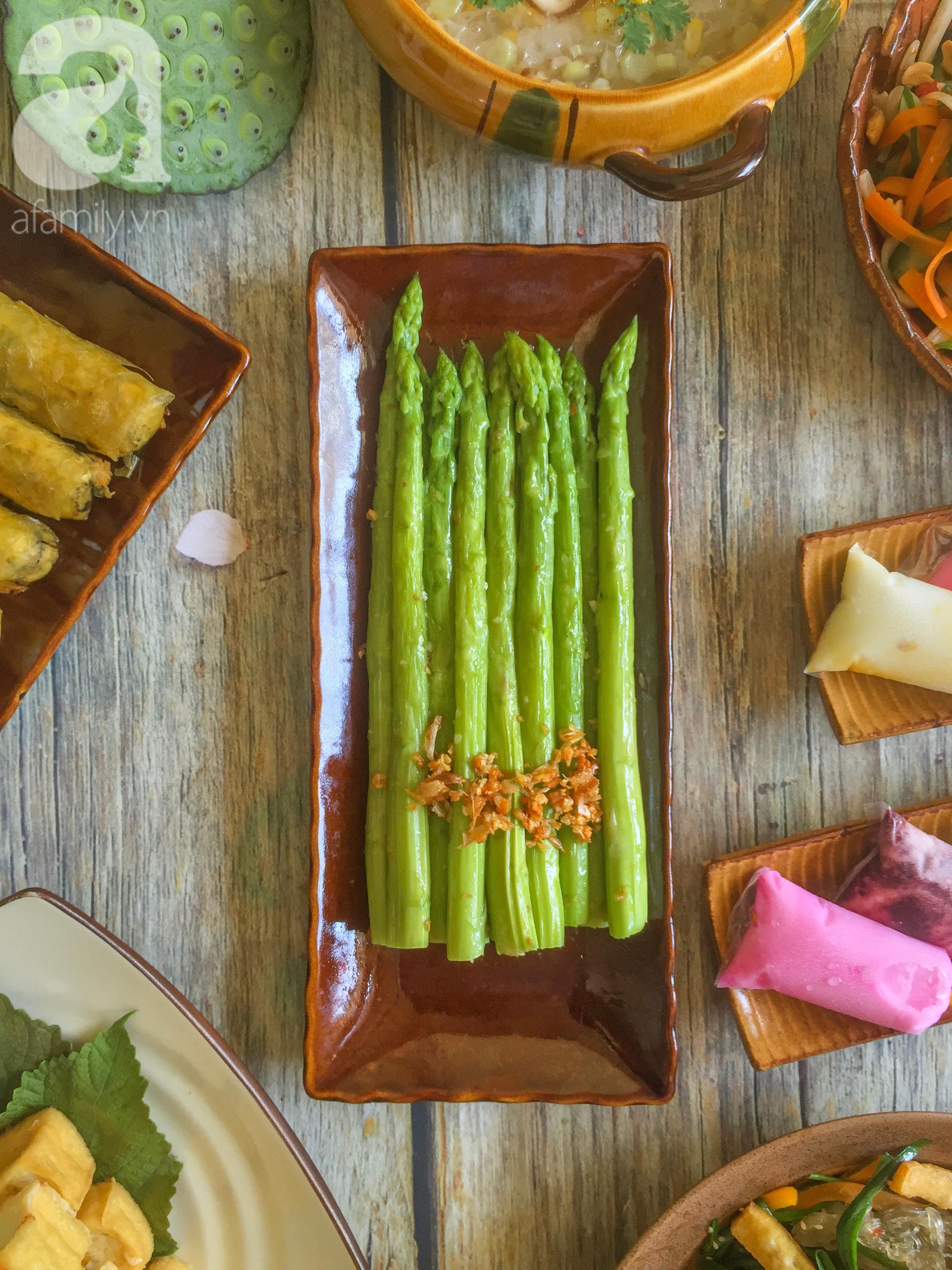 Tháng Vu Lan sắp về, mẹ đảm Sài Gòn chia sẻ mâm cơm chay 9 món đẳng cấp nhà hàng, chỉ nhìn thôi đã thấy quá hấp dẫn! - Ảnh 6.